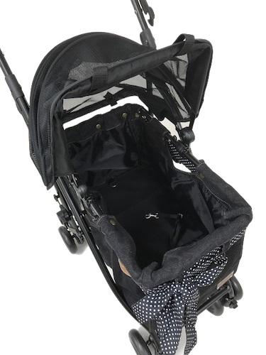 マザーカート Mother Cart アジリティー ブラックデニム ゴールドステッチ 上下段セット
