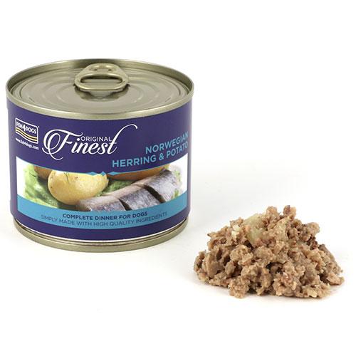 フィッシュ4 ドッグ FISH4DOGS ニシンポテト 缶詰 185g