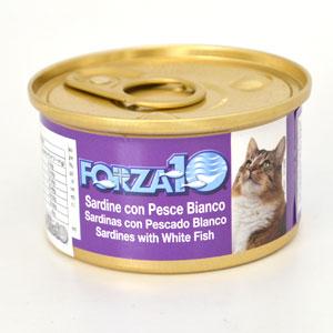 フォルツァディエチ FORZA10 猫用メンテナンスウェット イワシ&白身魚