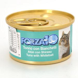 フォルツァディエチ FORZA10 猫用メンテナンスウェット マグロ&シラス