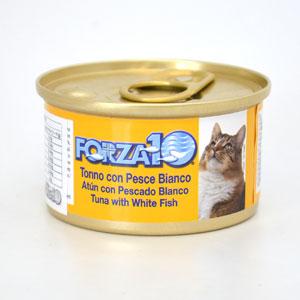 フォルツァディエチ FORZA10 猫用ウエットフード メンテナンス マグロ&白身魚