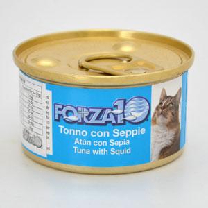 フォルツァディエチ FORZA10 猫用メンテナンスウェット マグロ&イカ
