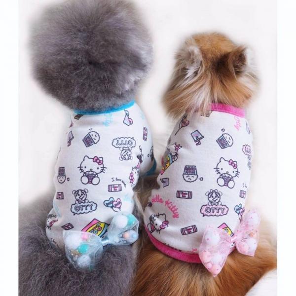 ヒートワン☆オッティ Otty ×HELLO KITTY・ポップコーンTシャツ☆