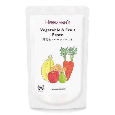 ヘルマン Herrmann's 野菜&フルーツ・ペースト 150g