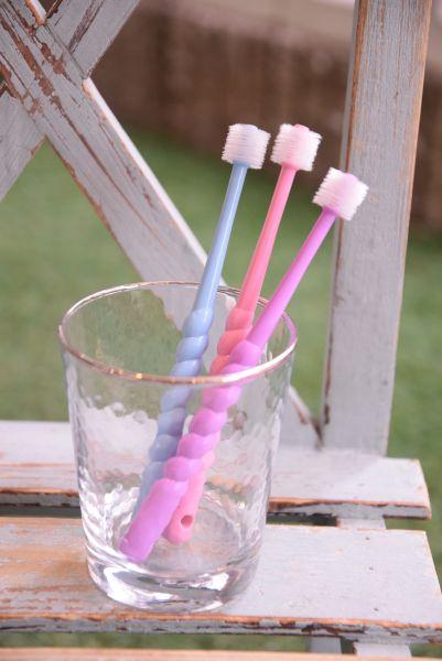 PURSUITOFLOVE(パシュートオブラブ)ぐるぐる歯ブラシ【ペット犬用ケア用品歯ブラシハブラシ歯周ケア】