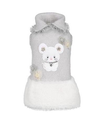 フォーペッツオンリー for pets only TOPOMIO & SNOW GREY DRESS (AI2018-P20)