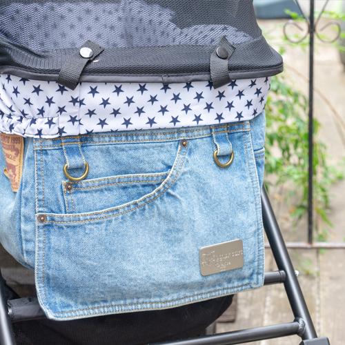 Mother Cart(マザーカート) ラプレアジリティー兼用インナーバッグ(星柄)上段用