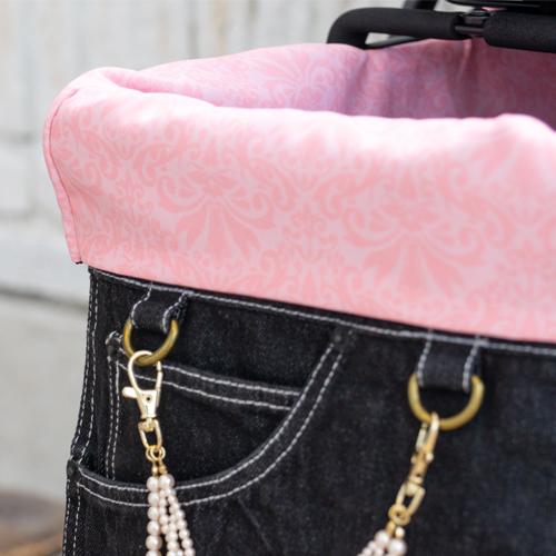 Mother Cart(マザーカート) ラプレアジリティー兼用インナーバッグ(Glamourismオリジナルプリント)上段用