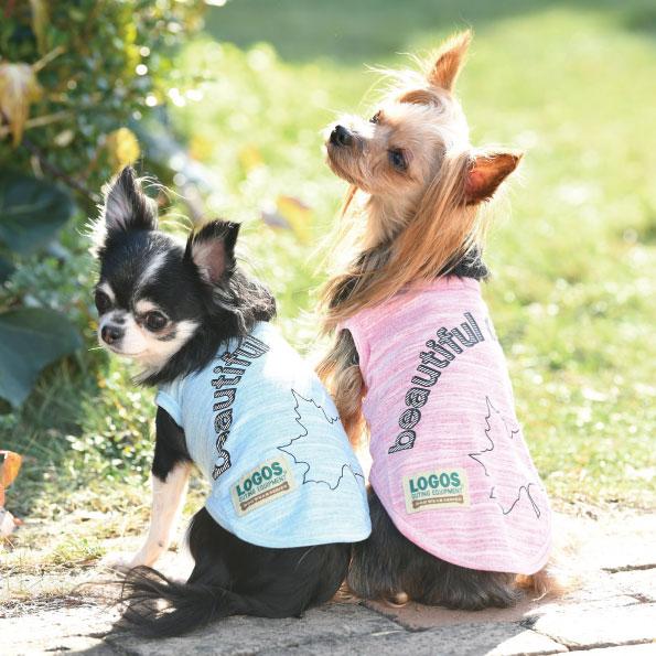 ロゴス LOGOS  ワンデイシャツ【小型犬 犬服 ウエア トップス タンク カジュアル】
