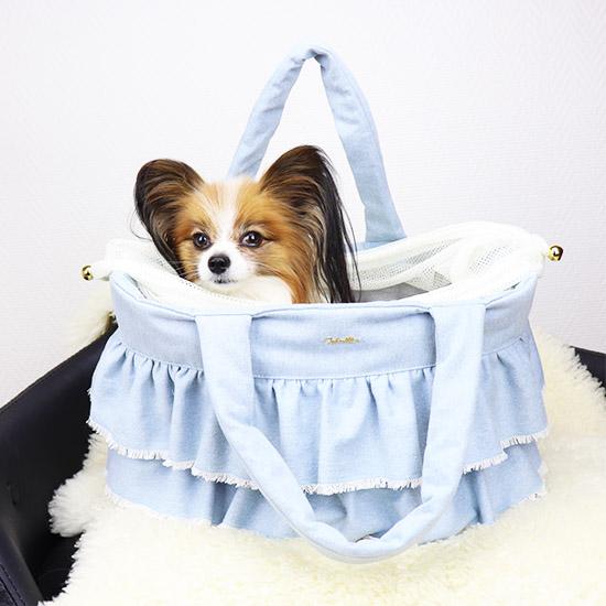 mimtto(ミムット)SACDENIMII【小型犬犬用ペットキャリーバッグセレブ】