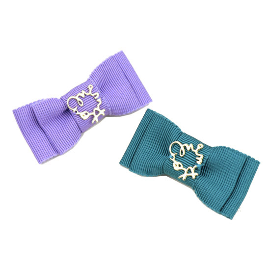 ミムット mimtto Double Ribbon Barrette