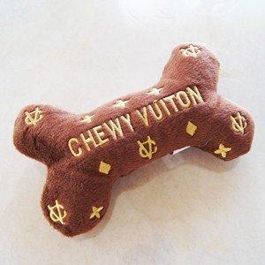 ドッグディギンデザイン Dog Diggin Designs Chewy Vuiton Bone Toy