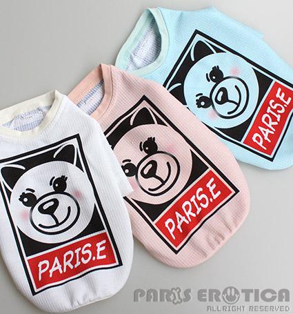PARIERO(パリエロ)PARIEROKUMATee【小型犬犬服ウエアトップスTシャツカットソーセレブ】