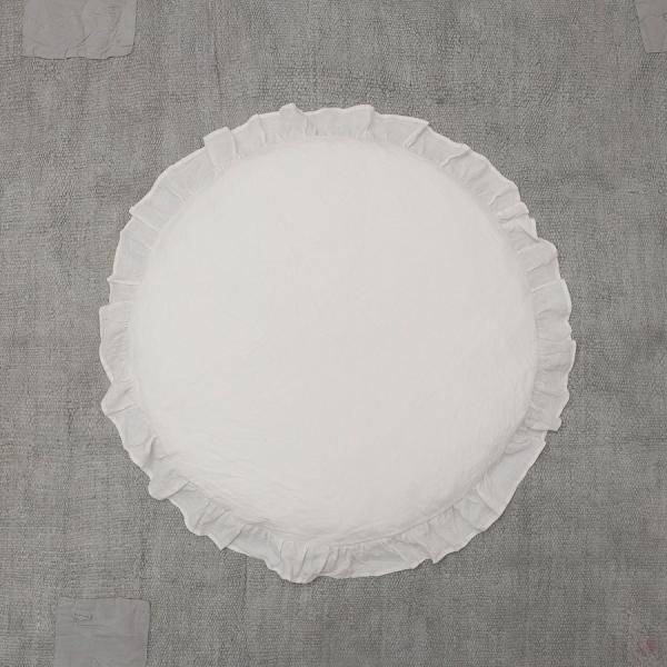 ルイスドッグ louisdog Peekaboo Rug/White Linen