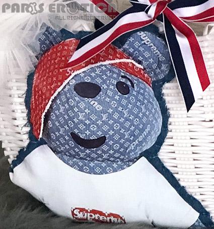 PARIERO(パリエロ)プラカゴバッグ:petitKUMA#3