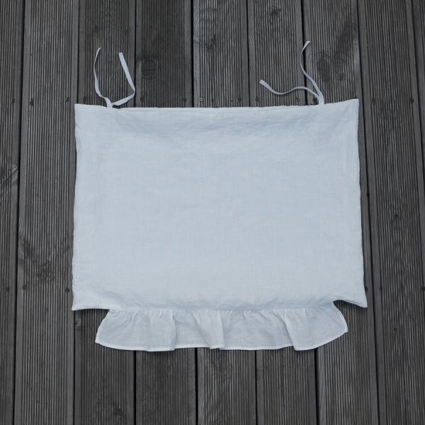 ルイスドッグ louisdog Peekaboo/White Cabana Cushion Cover