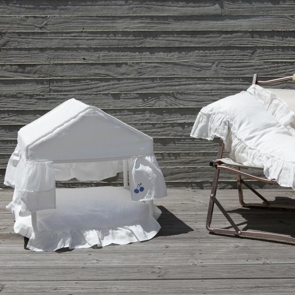 ルイスドッグ louisdog Peekaboo/White Cabana