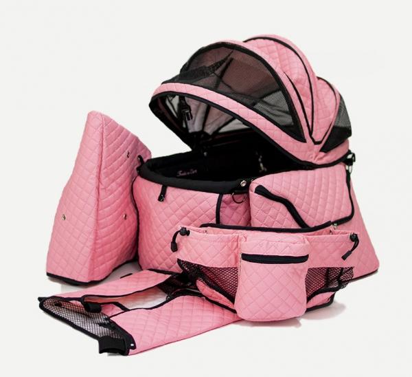 天使のカート シャンアンジェ ポルテ・キルト・マットピンク PORTE QUILT MAT PINK FULL SET (バッグのみ)