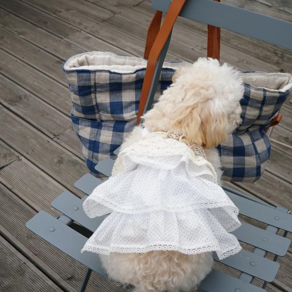 louisdog(ルイスドッグ)Girl'sBlouseCouture【小型犬犬服ウエアトップスキャミセレブ】