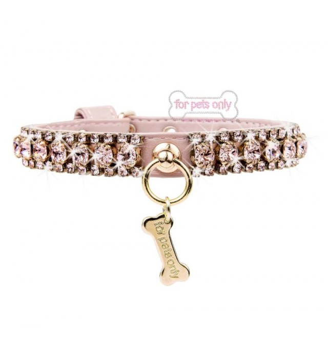 【30%OFF】フォーペッツオンリー for pets only Angel's Diamond Collar (AI2019-CO9)【小型犬 犬用 カラー 首輪 セレブ】 102020