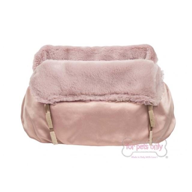 フォーペッツオンリー for pets only INNER ROSE GOLD BAG ECOFUR (AI2019-A3-S)