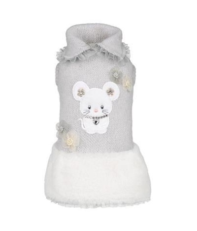 for pets only TOPOMIO & SNOW GREY DRESS