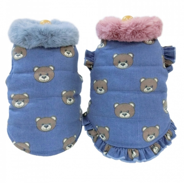 circus circus Toy Bear Denim中綿コート