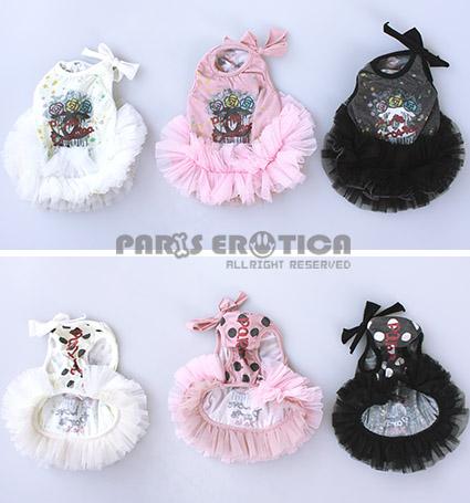 PARIERO(パリエロ)PECCCoolmotionFluffyTank[先行予約]【小型犬犬服ウエアトップスタンクセレブ】