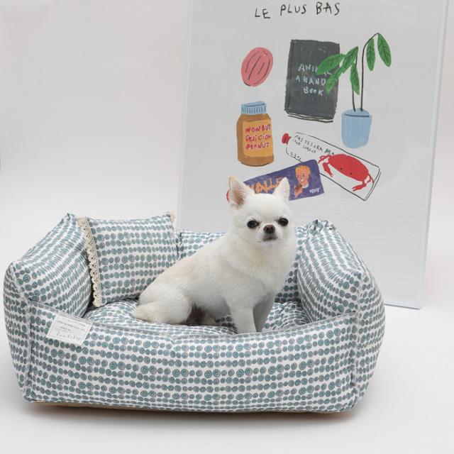 louisdog(ルイスドッグ)EgyptianCottonBoom/Lin【小型犬ベッドソファクッション着せ替えカバーセレブ】