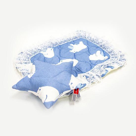 天使のカート×Luludoll冷えひえクールシリーズフルセット(マット&クッション)