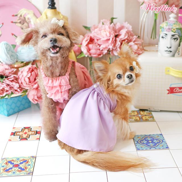 ウーフリンクWOOFLINKCHASINGTHESUN【小型犬犬服ウエアワンピースドレスセレブ】