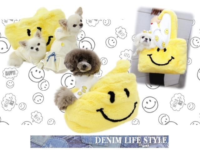 サーカスサーカス circus circus SMILE FUR Carry Bag