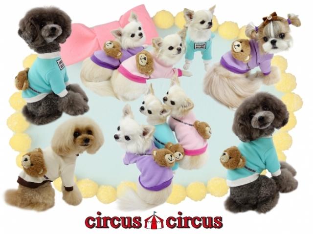 サーカスサーカス circus circus Toy Bear ポシェットスウェット