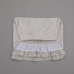 ルイスドッグ louisdog Linen Frill Boom Body Cover