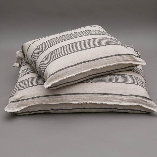 ルイスドッグ louisdog Stripes Linen Cushion