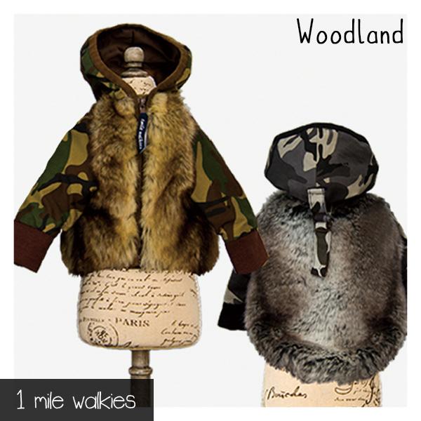 ワンマイルウォーキーズ 1 mile walkies ウッドランド Woodland Fur Jumper