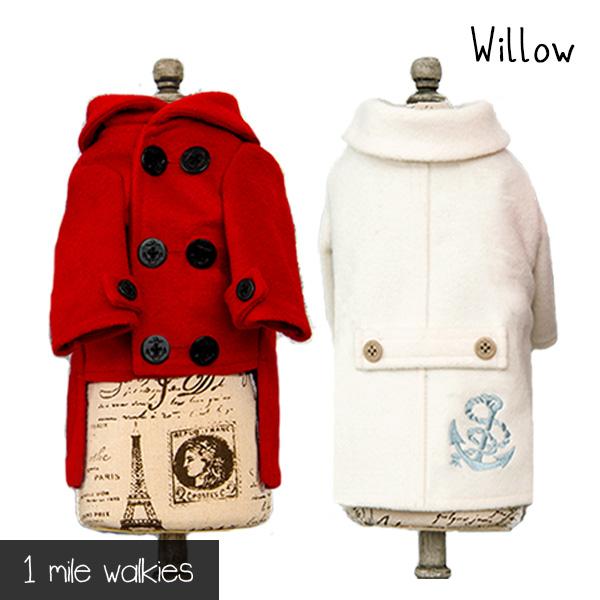 ワンマイルウォーキーズ 1 mile walkies ウィロー Willow Marine Coat