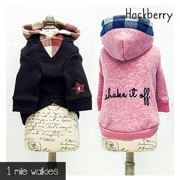 ワンマイルウォーキーズ 1 mile walkies ハックベリー Hackberry Hooded Sweatshirt