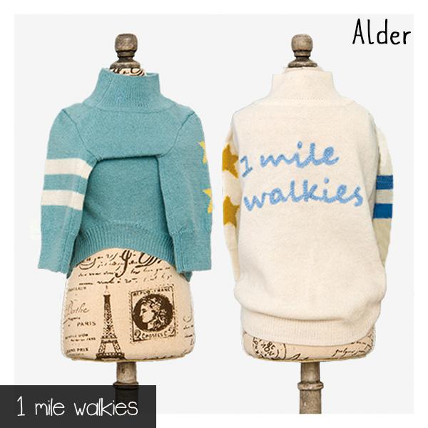 ワンマイルウォーキーズ 1 mile walkies アルダー Alder Logo Sweater