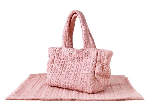 ミムット mimtto Cable Knit Jersey Blanket