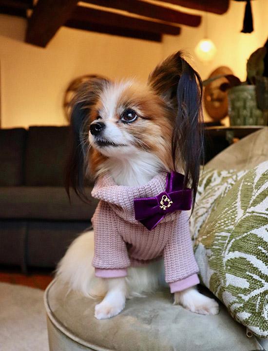ミムット mimtto Chunky Knit Sweater + Scarf