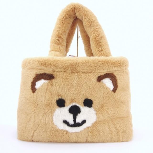 サーカスサーカス circus circus Toy Bear Fur Carry Bag