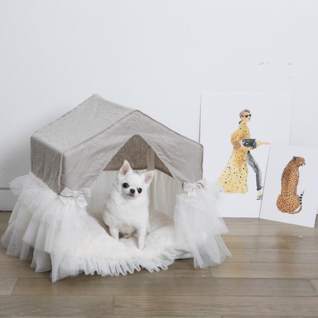 ルイスドッグ louisdog Linen Peekaboo/TUTU