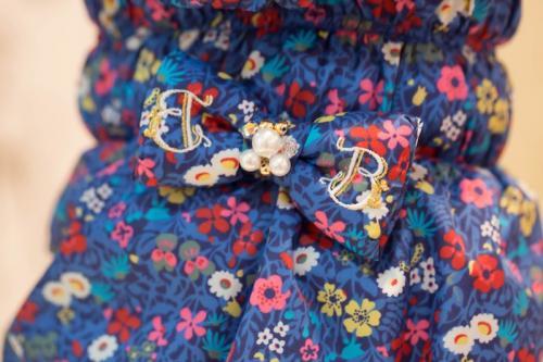ブルブブ BUL BU-BU Royal Flower 中綿コート