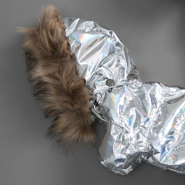 ルイスドッグ louisdog Goose Down/Hologram Fur(4Legs シルバー)