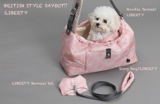 ルイスドッグ louisdog Winter Magic Reversible Sling Bag/LIBERTY