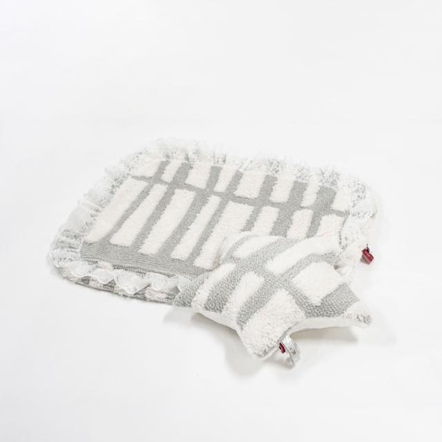天使のカート × ルルドール Luludoll ぬくぬくシリーズ ふわもこあったかマット&星型クッション