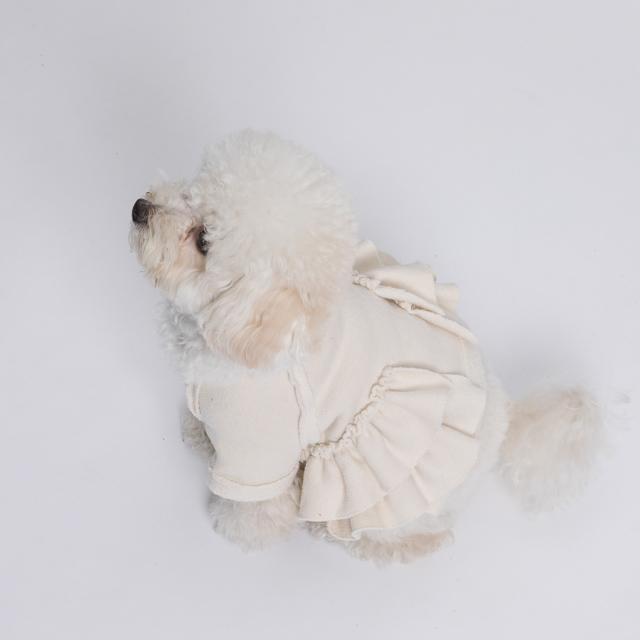 ルイスドッグ louisdog Fleece Blouse/Creme