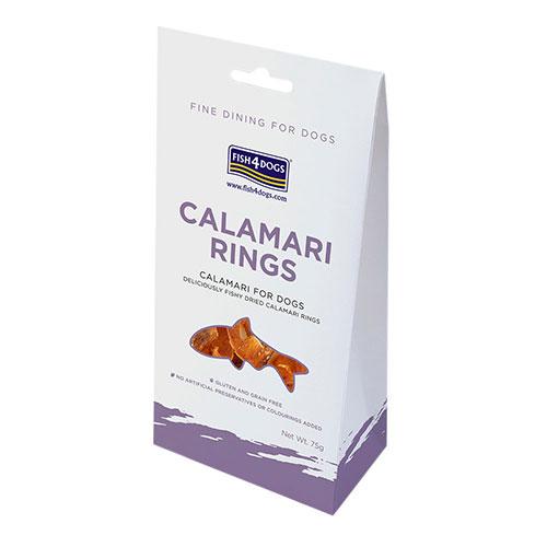 フィッシュ4 ドッグ FISH4DOGS CALAMARI RINGS イカリング 75g