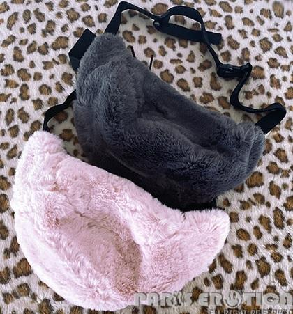 """パリエロ PARIERO faux fur ボディバッグ """"""""Plain"""""""""""